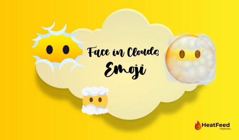 😶🌫️ Face in Clouds Emoji