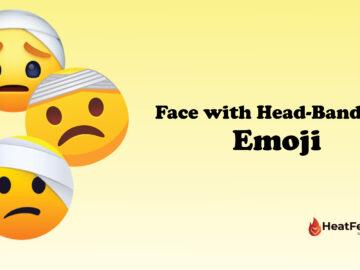 Face with Head-Bandage Emoji