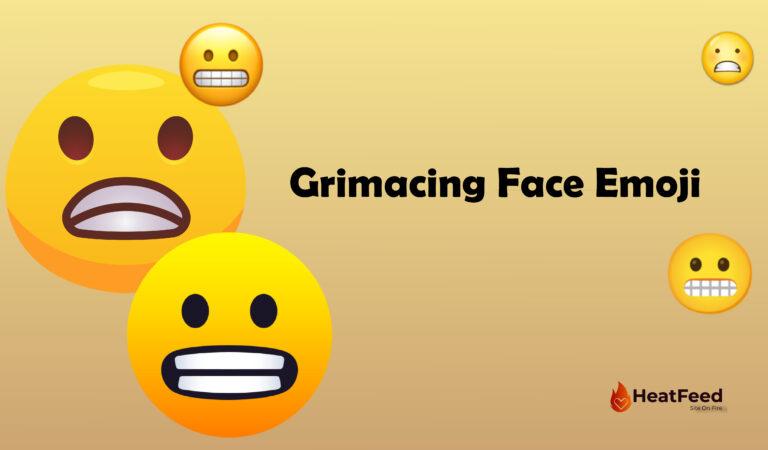😬 Grimacing Face Emoji