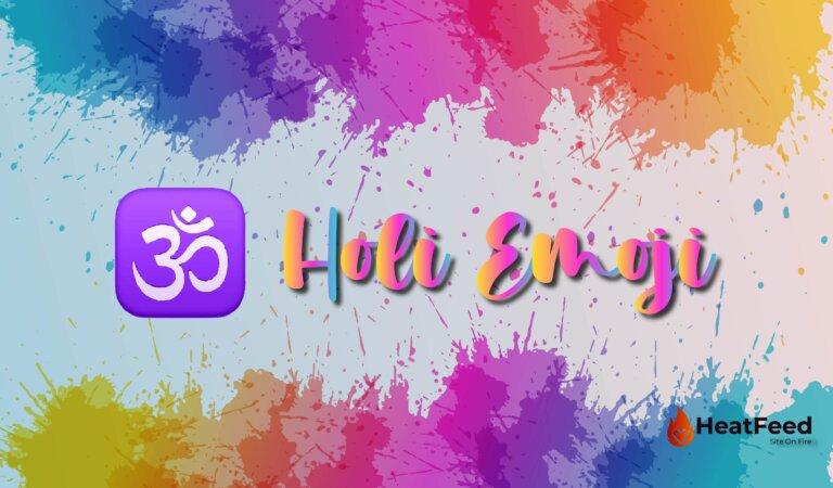 🕉️ Holi Emoji