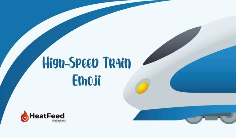 🚄 High-Speed Train Emoji
