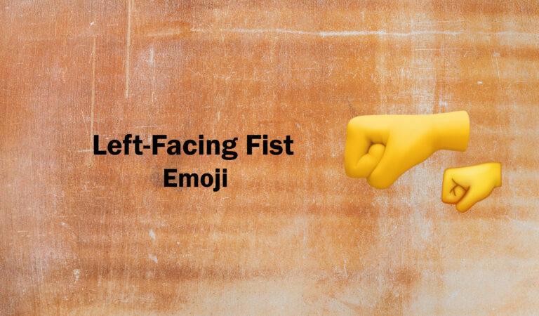 🤛Left-Facing Fist Emoji