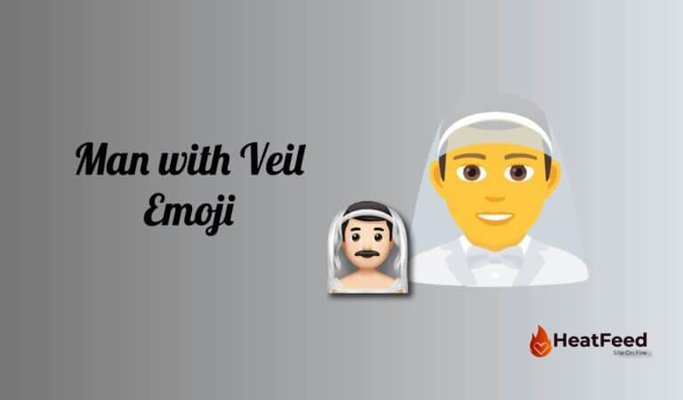 👰♂️ Man With Veil Emoji