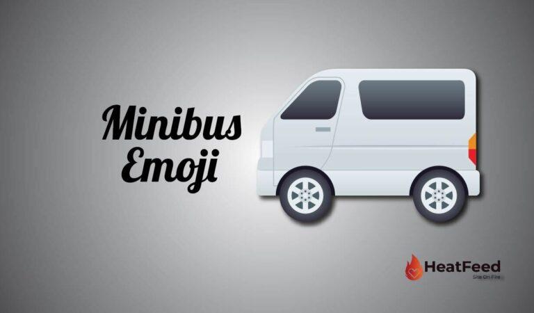 🚐 Minibus Emoji