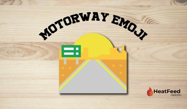 🛣️ Motorway Emoji