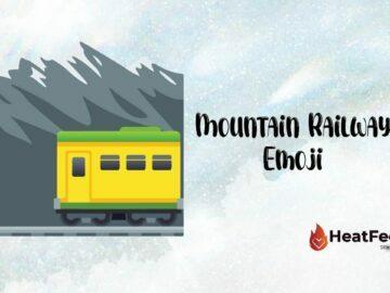 Mountain Railway Emoji