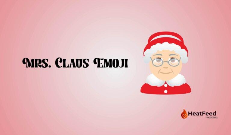 🤶Mrs. Claus Emoji