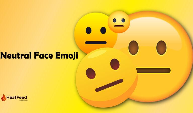 😐 Neutral Face Emoji