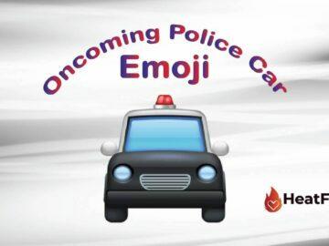 oncoming police car emoji