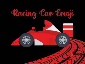 Racing Car Emoji