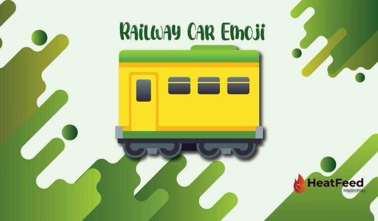 🚃 Railway Car Emoji