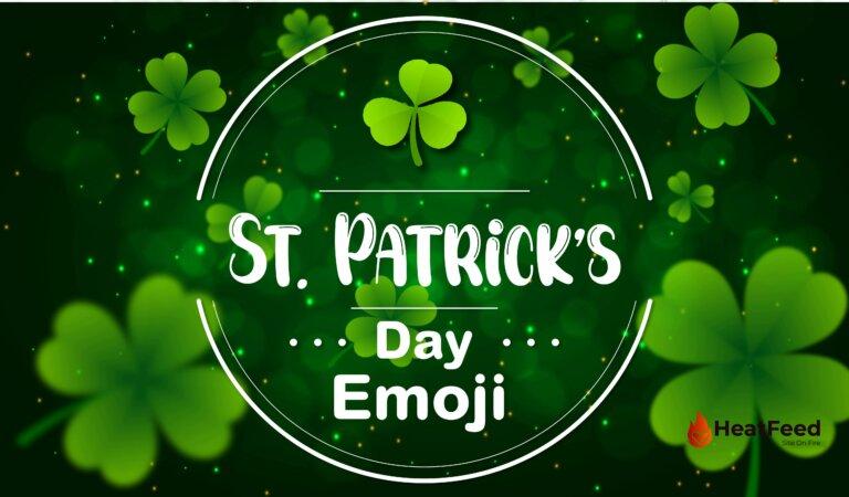 ☘️ St Patrick's Day Emoji