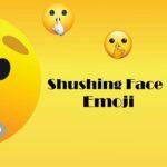 Shushing Face Emoji