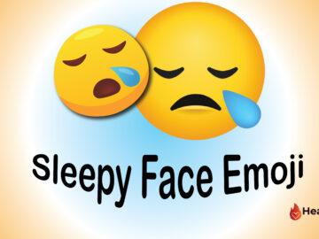 Sleepy Face Emoji