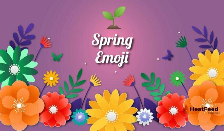 🌱 Spring Emoji