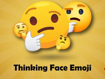 Thinking Face Emoji