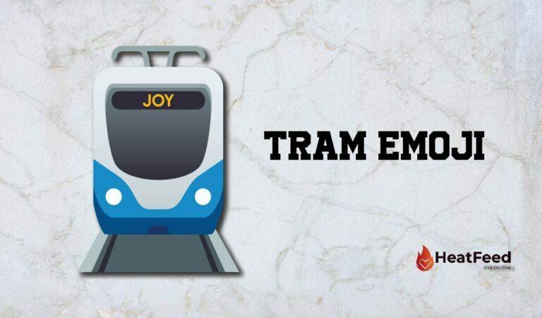 🚊 Tram Emoji
