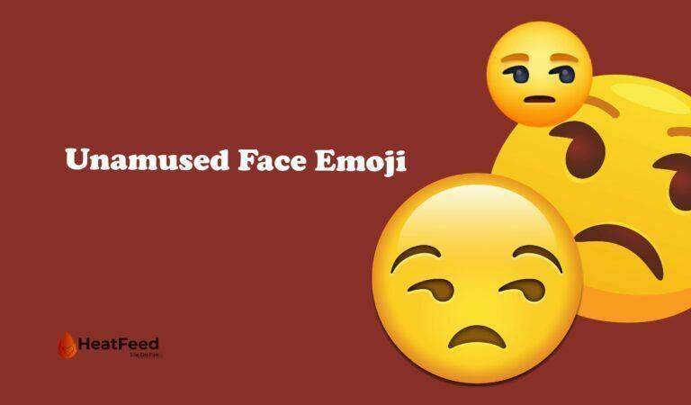 😒 Unamused Face Emoji