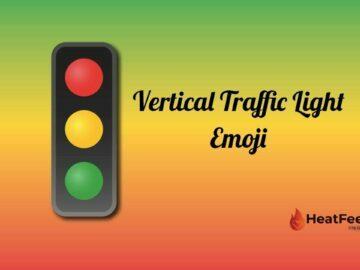 Vertical Traffic Light Emoji