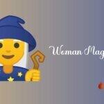 Woman mage emoji