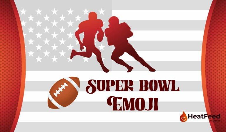 🏈 Super Bowl Emoji