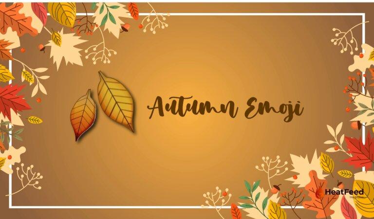 🍂 Fall / Autumn Emoji
