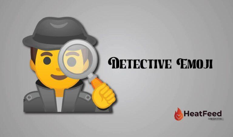 🕵️ Detective Emoji