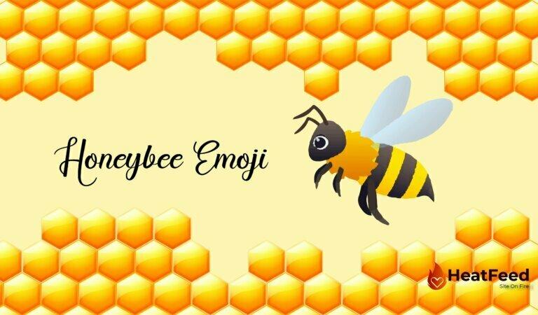 🐝 Honeybee Emoji
