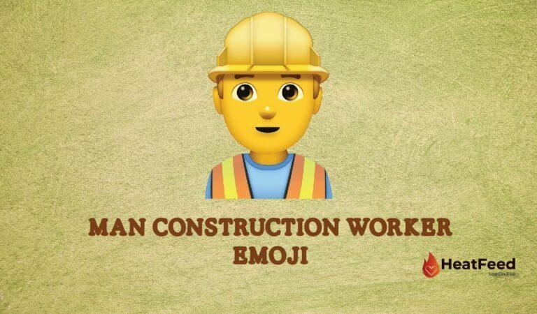 👷♂️ Man Construction Worker Emoji