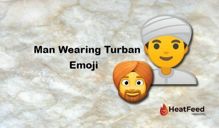 👳♂️ Man Wearing Turban Emoji