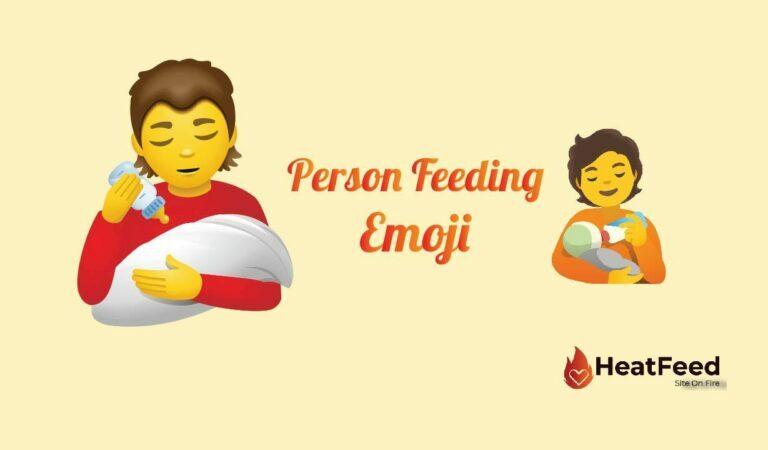 🧑🍼 Person Feeding Baby Emoji