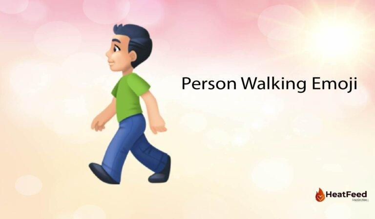🚶Person Walking Emoji