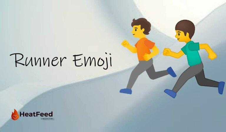 🏃 Person Running Emoji