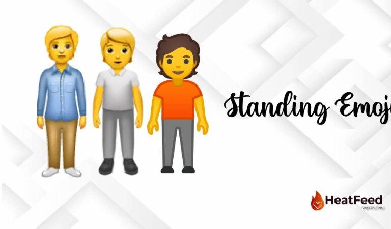 🧍 Person Standing Emoji