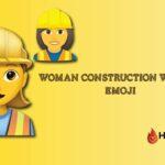 woman construction worker emoji