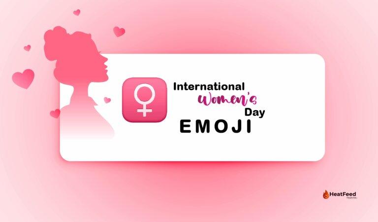 ♀️ International Women's Day Emoji